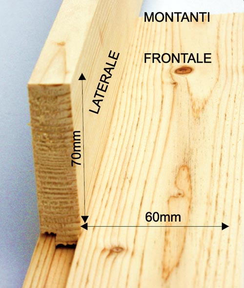 Casa immobiliare accessori legno per finestre - Profili in legno per finestre ...