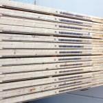 Contro telai in legno per porte in kit