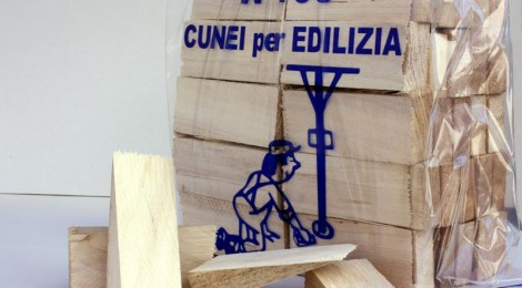 Cunei in legno di pioppo, massima versatilità di utilizzo