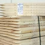 Picchetti in legno per edilizia e geometri