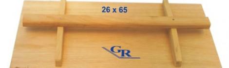 Frattazzo in legno ART 91 cm 26 x 65 Confezione 5 pezzi