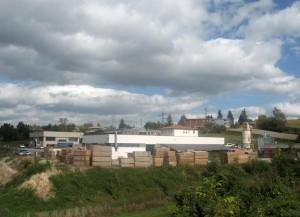GR Rosati, stabilimento lavorazione legno per edilizia
