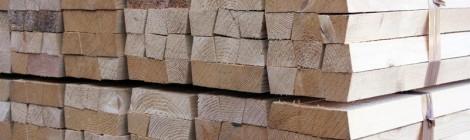 Magatelli in legno per edilizia