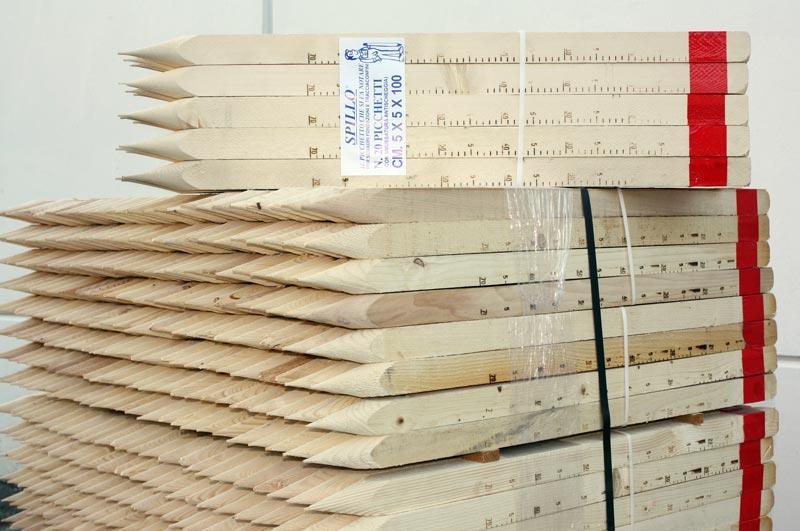 Picchetti in legno utensili in legno per edilizia gr rosati - Tavole di legno per edilizia ...