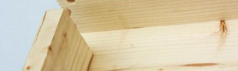 Nuovo telaio in legno per finestre